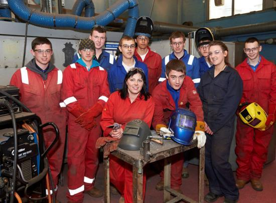 Photograph of College Weld Challenge Puts Trainees to the Test