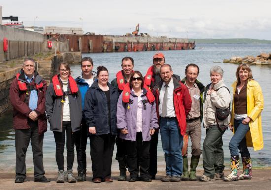 Photograph of Delegates To Innovation Conference Visit Gills Harbour