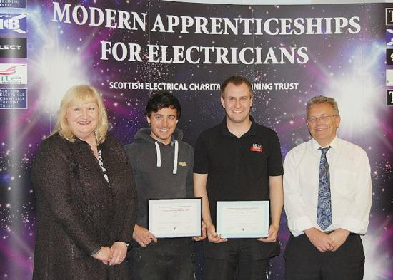 Photograph of DOUBLE-WHAMMY WIN FOR CAITHNESS APPRENTICES