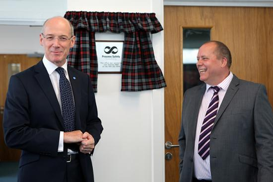 Photograph of John Swinney Officially Opens New PSS Wick Facility Set To Create 40 Jobs