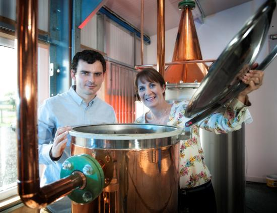 Photograph of Gin set to flow from new Caithness micro distillery