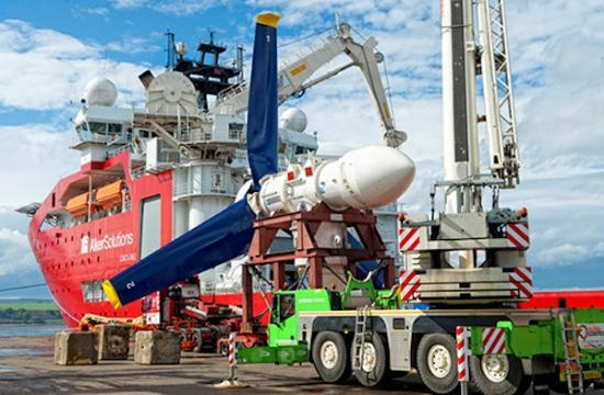 Photograph of ABB to provide UK grid connection for Europe's largest tidal energy project