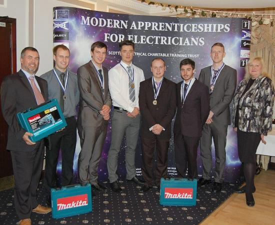 Photograph of NHC Students win national apprentice awards