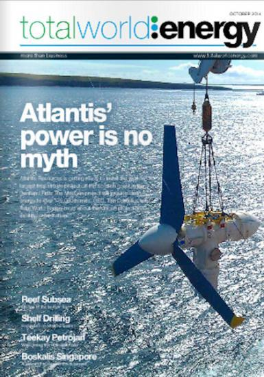Photograph of Pentland Firth Features In Total World Energy Magazine