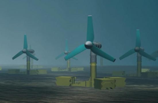 Photograph of World's largest tidal array development wins prestigious international Award