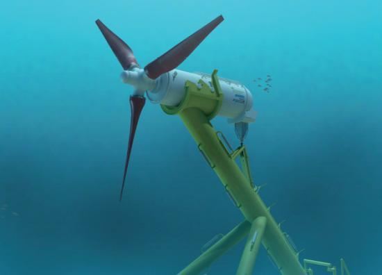 Photograph of ANDRITZ to supply tidal current turbines to MeyGen