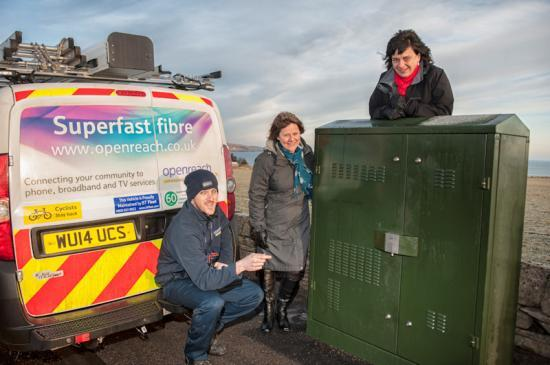 Photograph of Next generation fibre broadband is available now to the first customers in Wick and Thurso
