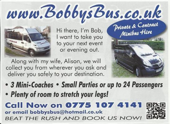 Photograph of Bobby's Bus For Hire