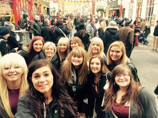 Photograph of Beauty students attend UK's leading beauty event in London