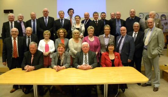 Photograph of New Administration agreed to lead Highland Council