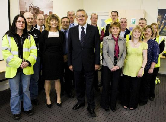 Photograph of Energy Minister Launches Career Transition Plan For Dounreay Workforce