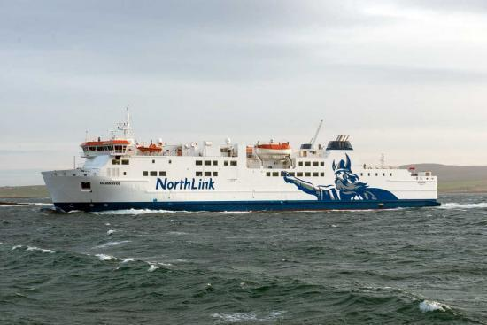 Photograph of NorthLink Ferries Set to Appear in Successful Shetland Series
