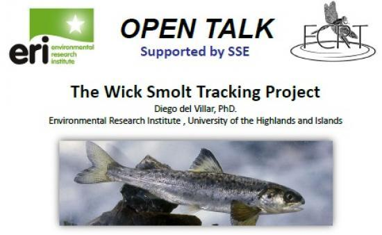 Photograph of The Wick Smolt Tracking Project