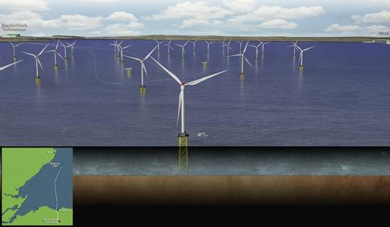 Photograph of 90 Jobs For Wick in £2.5 Billion Beatrice Offshore Wind Farm