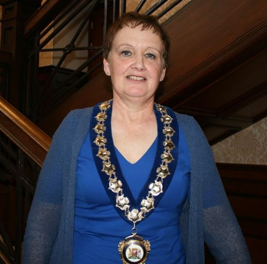 Photograph of Independent Councillor Gillian Coghill Is The New Civic Leader for Caithness