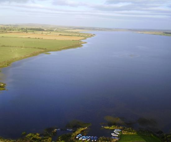Photograph of Public warned of algal bloom presence at Loch Watten, Caithness