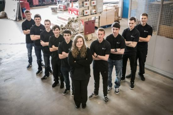 Photograph of 10 New Apprentices Start At Dounreay
