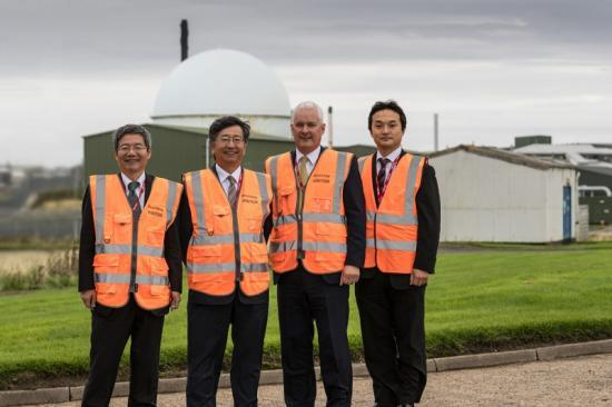 Photograph of Japanese Ambassador visits Dounreay