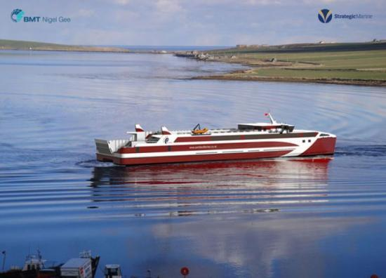 Photograph of Bmt Nigel Gee Secures 85m Ropax Ferry Contract For Pentland Ferries