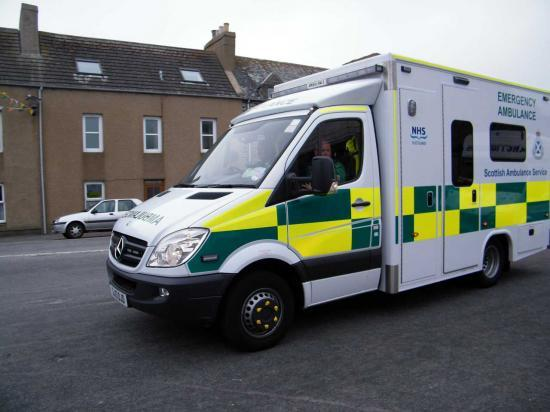 Photograph of New ambulance funding for Caithness