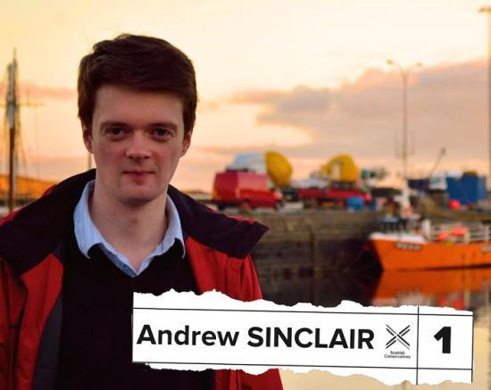 Photograph of Andrew Sinclair - Scottish Conservative & Unionist Party - Wick & East Caithness