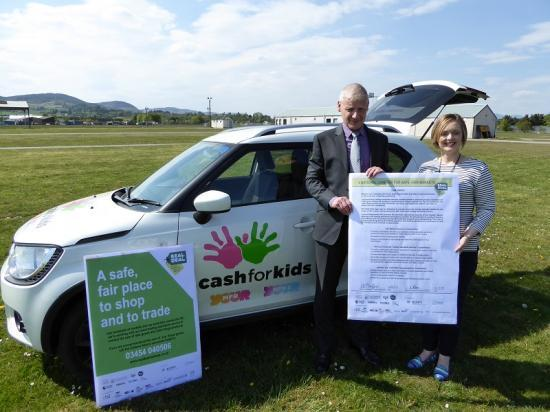 Photograph of Moray Firth Radio Cash for Kids joins forces with Trading Standards in the Real Deal Scheme