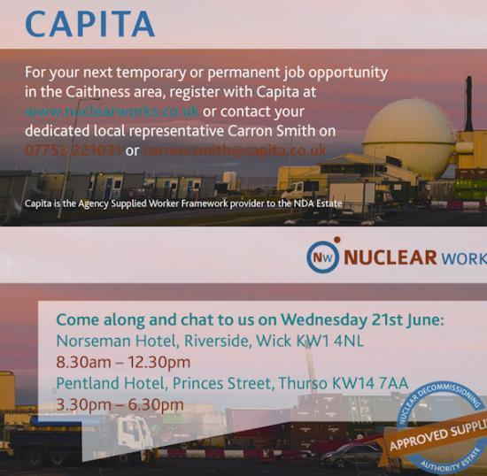 Photograph of Dounreay Recruitment Day