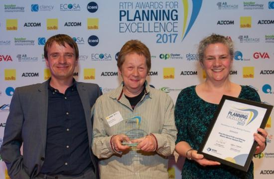 Photograph of Top excellence award for Marine Spatial Plan
