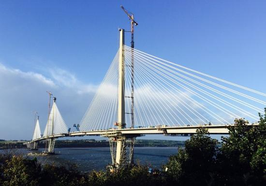 Photograph of Queensferry Crossing To Open August 30 2017
