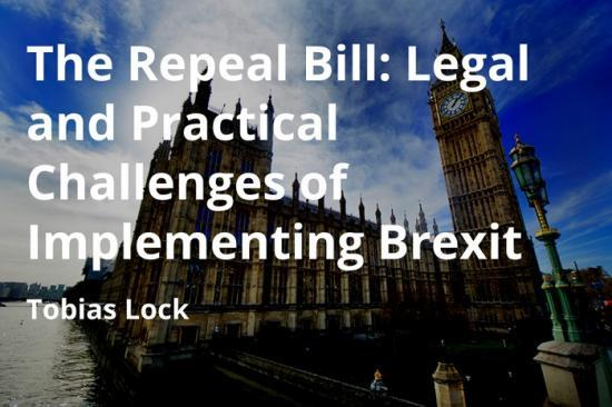 Photograph of The Repeal Bill - New Policy Paper from Scottish Centre on European Relations
