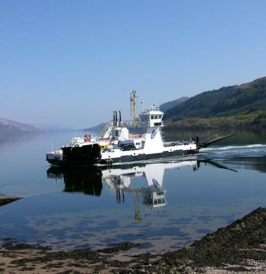 Photograph of Council confirms Corran Ferry is back up and running