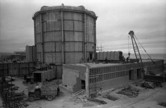 Photograph of Dounreay's Oldest Reactor To Be Demolished
