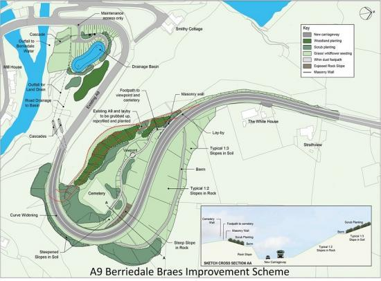 Photograph of £9 Million Berriedale Braes Road Contract Out To Market