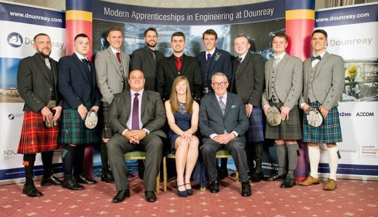 Photograph of Graduating Apprentices