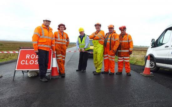 Photograph of Killimster Moss Road Opening