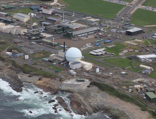 Photograph of End Of The Dome Now  In Sight At Dounreay