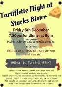 Thumbnail for article : Tartiflette Night At Stacks Bistro