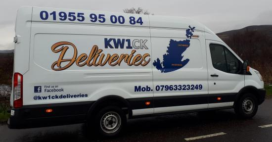 Photograph of New Delivery Service Gets Moving - KW1CK
