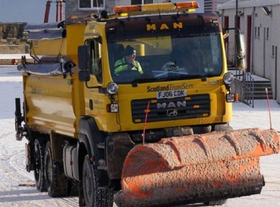 Photograph of Winter plan for Caithness roads confirmed