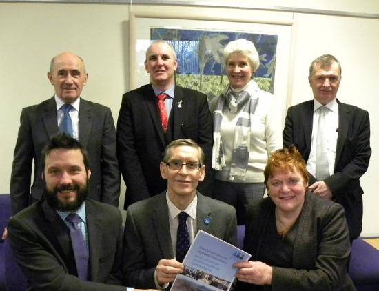 Photograph of Commission On Highland Democracy Report Launched