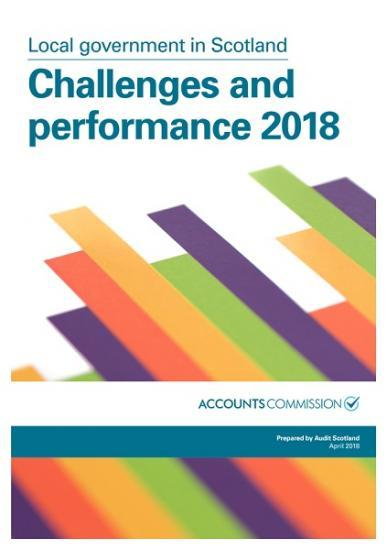 Photograph of Local Government in Scotland - Performance and Challenges 2018