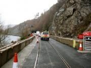 Thumbnail for article : Annual inspection of Stromeferry rock face