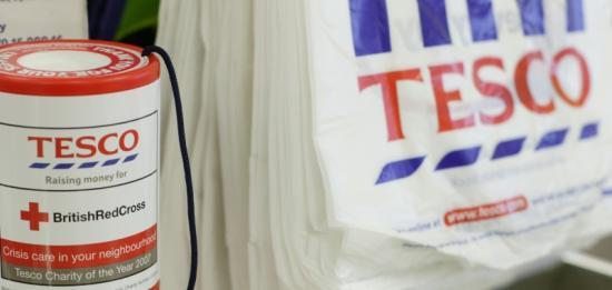 Photograph of Tesco Wick Raises Highest Total For Red Cross In Highland