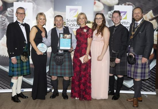 Photograph of Reids Of Caithness Of Thurso Takes A Top Prize In Scottish Baker Of The Year 2018 Competition