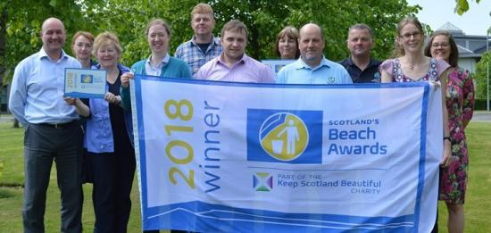 Photograph of Highland Success In Scottish Beach Awards