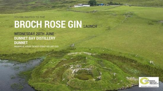 Photograph of Broch Rose Gin Event on Wednesday 20th June