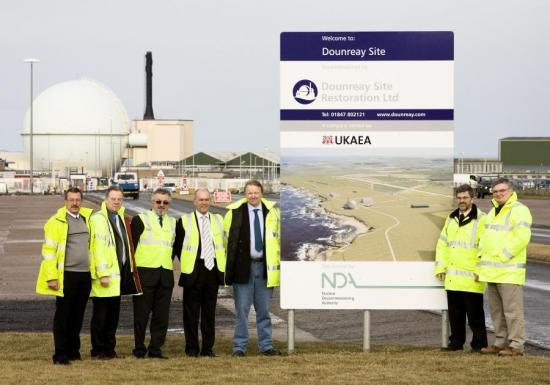 Photograph of UKAEA Today Evolved Into Dounreay Site Restoration Ltd