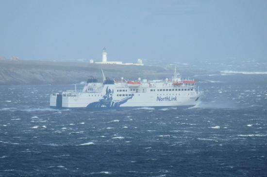 Photograph of Hamnavoe Sails Short Sea Route Due To Severe Westerly Gale
