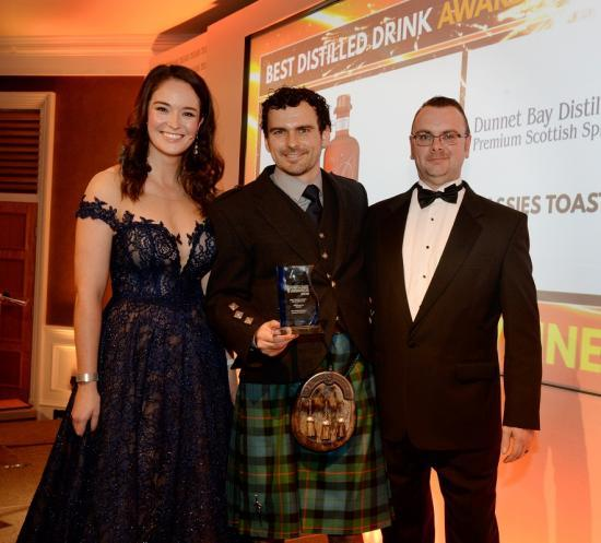 Photograph of Dunnet Bay Distillers Wins Top Regional Food And Drink Award