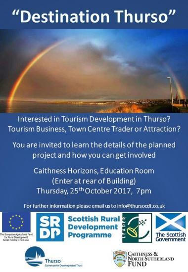 Photograph of Destination Thurso - Public Meeting